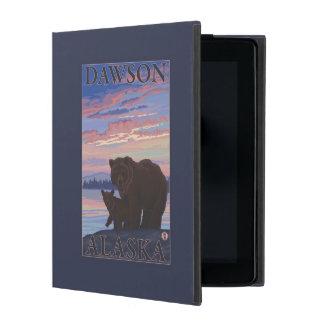 Bear and Cub - Dawson, Alaska iPad Covers