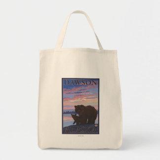 Bear and Cub - Dawson, Alaska Tote Bag