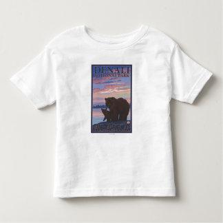 Bear and Cub - Denali National Park, Alaska Toddler T-shirt