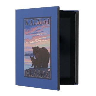 Bear and Cub - Katmai, Alaska iPad Folio Case