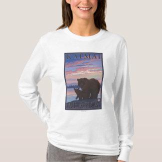 Bear and Cub - Katmai, Alaska T-Shirt