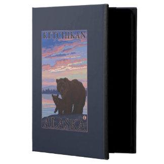 Bear and Cub - Ketchikan, Alaska Cover For iPad Air