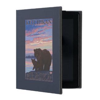 Bear and Cub - Ketchikan, Alaska iPad Case