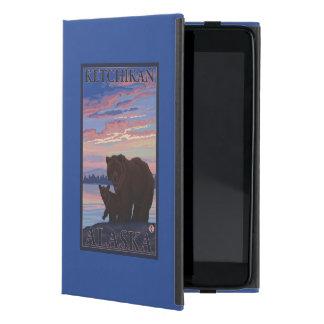 Bear and Cub - Ketchikan, Alaska iPad Mini Cover