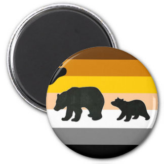 Bear and Cub Pride Magnet