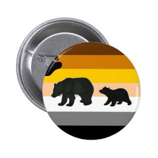 Bear and Cub Pride Pinback Button