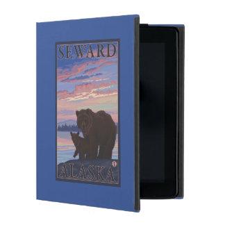 Bear and Cub - Seward, Alaska iPad Case