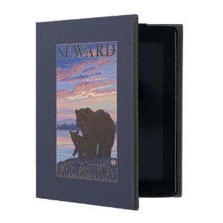 Bear and Cub - Seward, Alaska iPad Folio Cases