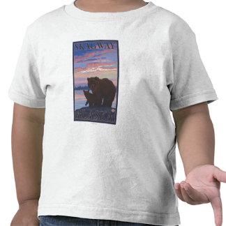 Bear and Cub - Skagway, Alaska Tee Shirt