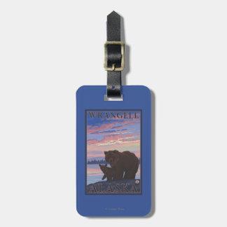 Bear and Cub - Wrangell, Alaska Bag Tag