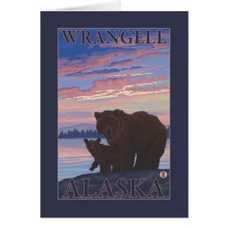 Bear and Cub - Wrangell, Alaska Card