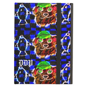 Bear and fishes case for iPad air
