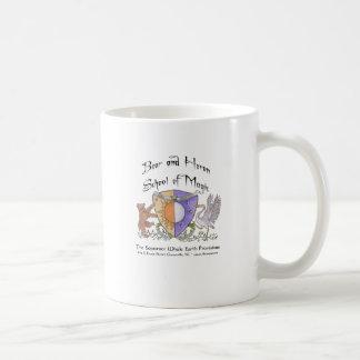 Bear and Heron School of Magic Coffee Mug