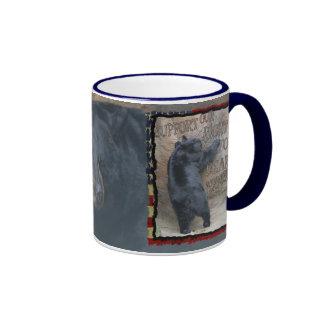 BEAR ARMS - 2ND AMMENDMENT RIGHT RINGER COFFEE MUG