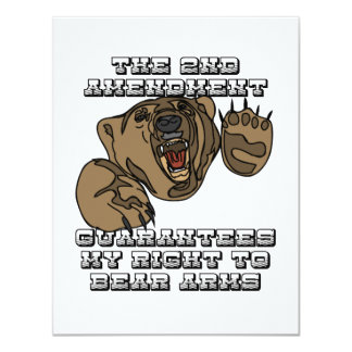 Bear Arms Personalized Invite