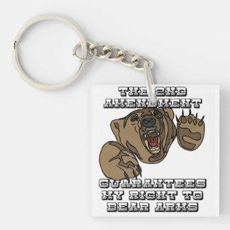 Bear Arms Keychain