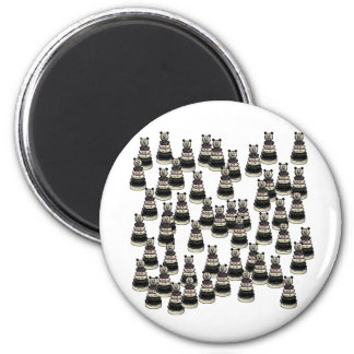 Bear Army 2 Inch Round Magnet