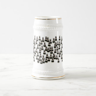 Bear Army Beer Stein