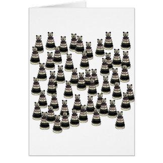 Bear Army Card