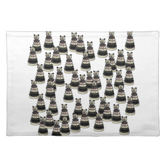 Bear Army Cloth Placemat