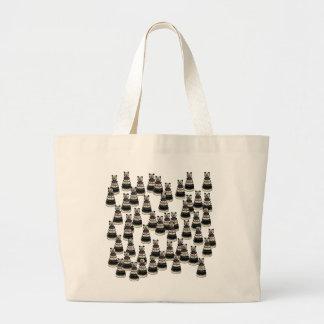 Bear Army Large Tote Bag