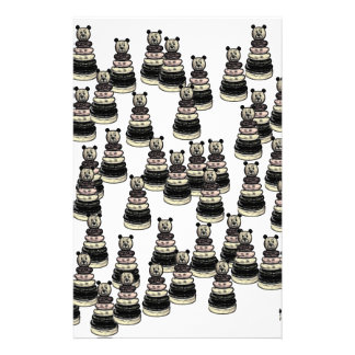 Bear Army Stationery