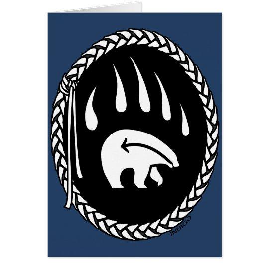 Bear Art Cards Blank Tribal Bear Art Cards Custom