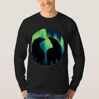 Bear Art Shirt Northern Lights Bear Shirts