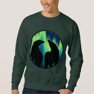 Bear Art Sweatshirt Unisex Aurora Bear Shirts