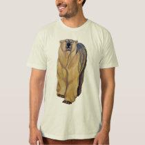 Bear Art T-shirt Polar Bear Shirts Organic Gifts