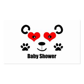 Bear Baby Shower Business Card
