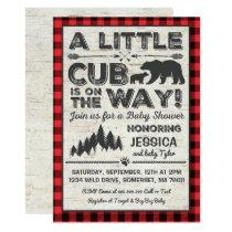 Bear Baby Shower Invitation Adventure Baby Shower