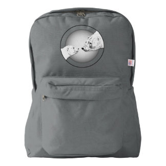 Bear Backpack Polar Bear School Bags Customizable