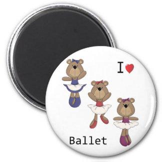 Bear Ballet Magnet