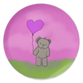 Bear & Balloon Plates