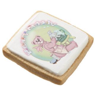 BEAR BATH SQUARE Shortbread Cookies - One Dozen