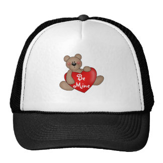 Bear Be Mine Valentine Tshirts and Gifts Trucker Hat