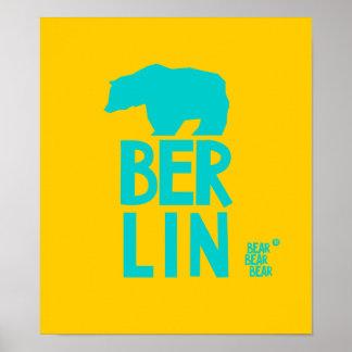 Bear Bear Bear Berlin Originals 016 Poster