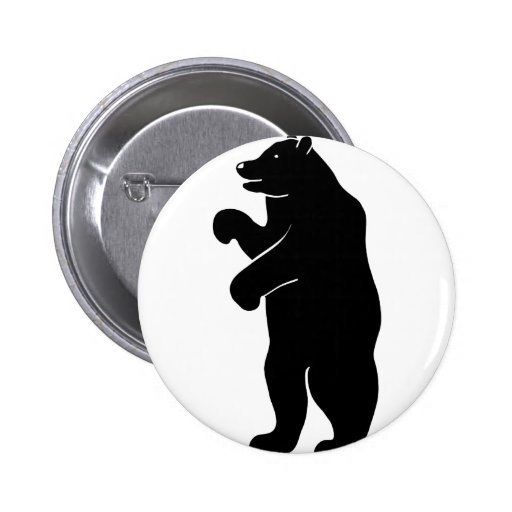 bear bear Berlin grizzly Pin