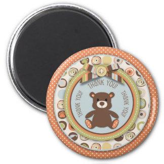 Bear Bear Boy TY Magnet