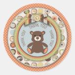 Bear Bear Boy TY Sticker