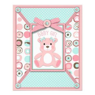 Bear Baby Shower Flyers, Bear Baby Shower Flyer Templates and Printing