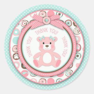 Bear Bear Girl TY Sticker