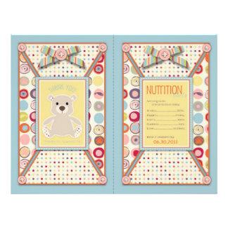 Bear Bear Popcorn Wrapper Flyer Design