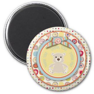 Bear Bear TY Magnet