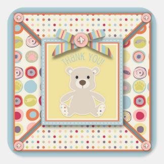Bear Bear TY Square Sticker
