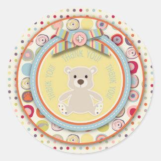 Bear Bear TY Sticker