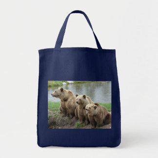 Bear bears animal custom personalize Anniversaries Tote Bag