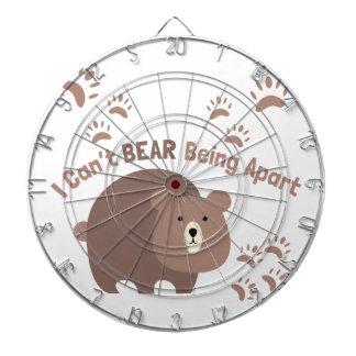 Bear Being Apart Dart Board