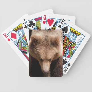 Bear Bicycle Playing Cards